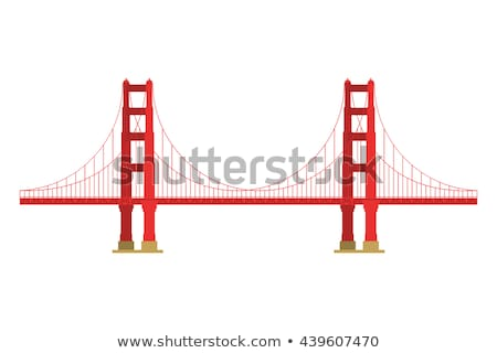 Ver Golden Gate Bridge San Francisco paisagem cidade oceano Foto stock © dolgachov