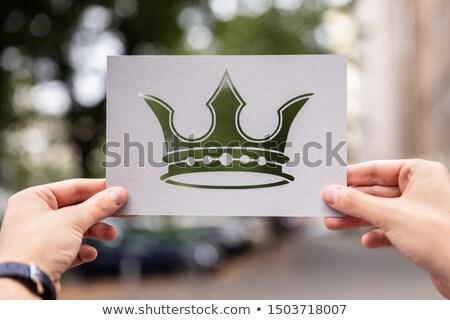 mains · papier · sexe · égalité - photo stock © andreypopov