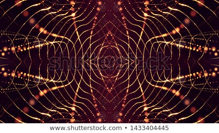 fractal 39 red stock photo © hlehnerer