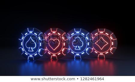 jackpot · segno · casino · vettore · grande - foto d'archivio © robuart