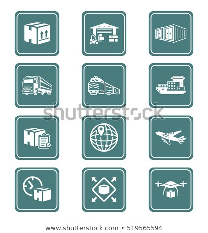 International Business, Logistics Worldwide Vector Stock photo © robuart