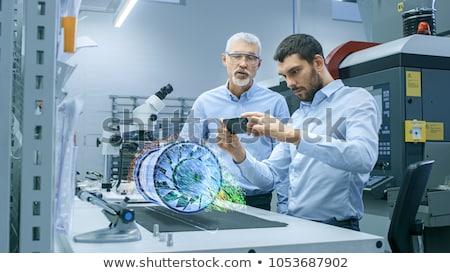 男性 デザイナー 現実 投影 表 結果 ストックフォト © ConceptCafe