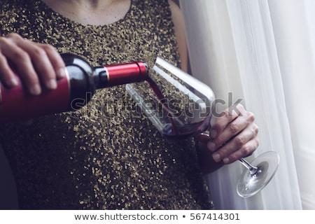 стекла пить роскошь праздник Сток-фото © Anneleven