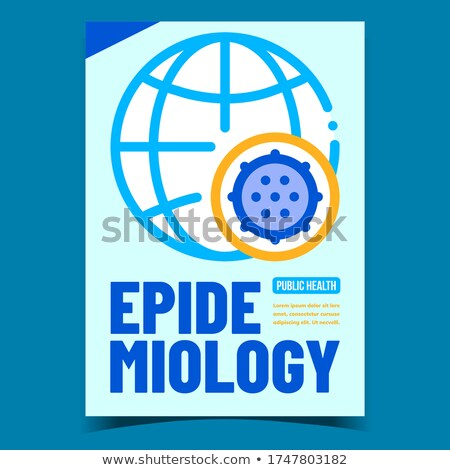 Epidemiology Creative Promotional Banner Vector Stock photo © pikepicture