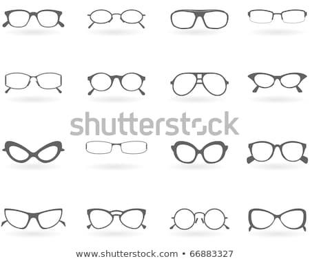 Prohibir gafas icono vector Foto stock © pikepicture