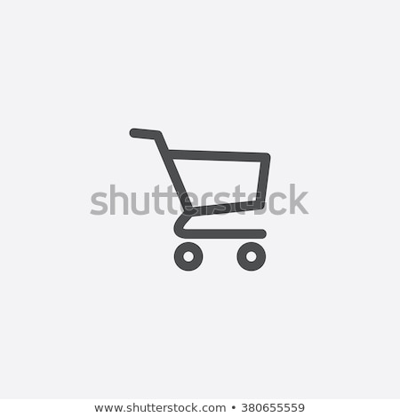 Online shopping concept with shopping cart icons Stock photo © ra2studio