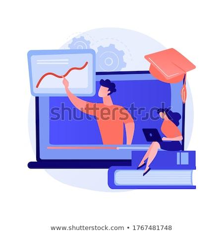 Computer graphics advices and tips watching vector concept metaphor. Stock photo © RAStudio