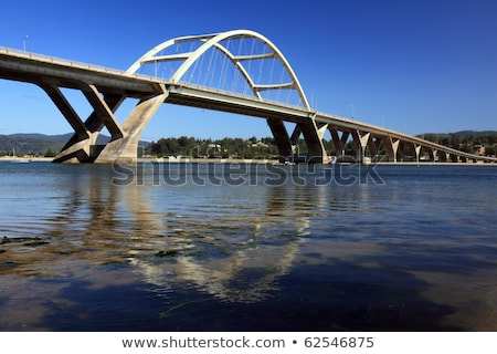 Waldport Bridge Stock photo © craig