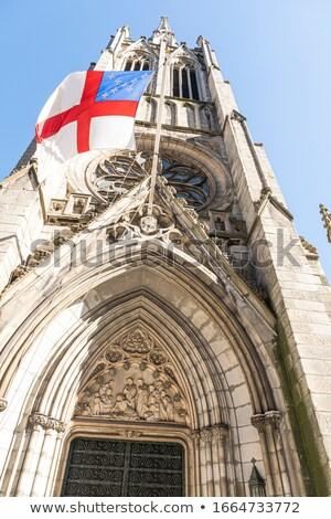 episcopal flag Stock photo © tony4urban