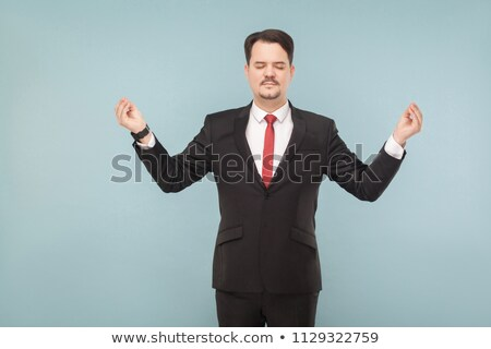 Businessman needing breathing space stock photo © photography33