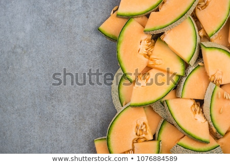 黄色 · フルーツ · 新鮮な · メロン - ストックフォト © frank11