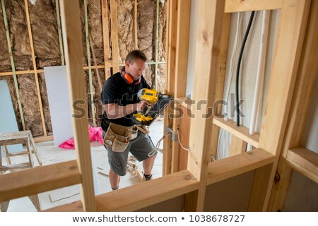 Attractive builder Stock photo © photography33