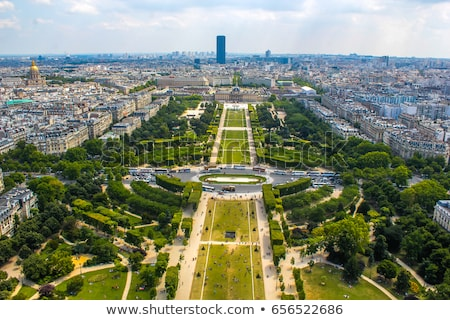 View of Champ de Mars, Paris - France Stock photo © fazon1
