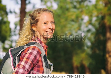 fiatal · szőke · nő · szatyrok · vásárlás · lány - stock fotó © dashapetrenko