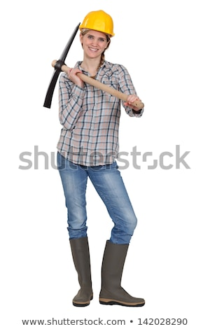 Bloman with a pickaxe Stock photo © photography33
