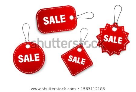 Foto stock: Orgánico · ventas · etiquetas · gradiente · aislado