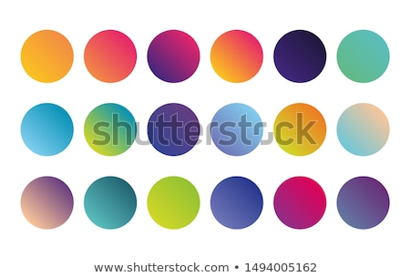 Multicolored circles on a white background digital art. Stock photo © latent