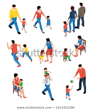 3D People Father and Son stock photo © Quka