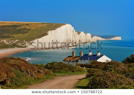 Seven Sisters - famous coast in England Stock photo © CaptureLight