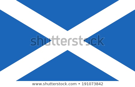 флаг · Шотландии · Blue · Sky - Сток-фото © Lynx_aqua