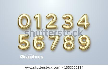 Векторные иконки блестящие и 3d - набор 2 Сток-фото © maximmmmum