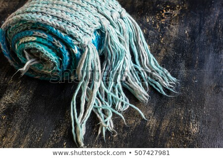 Scarf from wool manual are viscous Stock photo © vavlt
