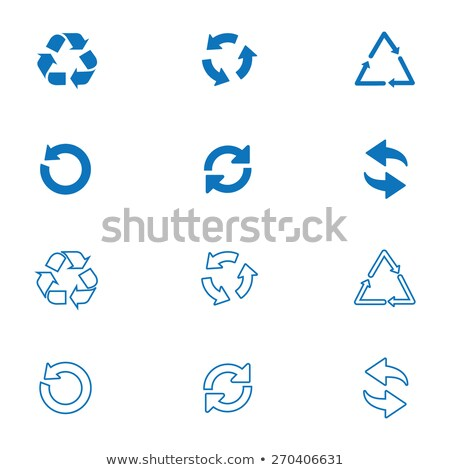 earth with abstract recycle arrows  Stock photo © bocosb
