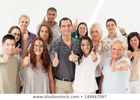 Multi-Ethnic Group Thumbs Up Stock photo © luminastock