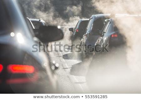 Autó szennyezés segítség környezet klasszikus stílus Stock fotó © lordalea