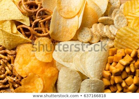 snack food crackers stock photo © m-studio
