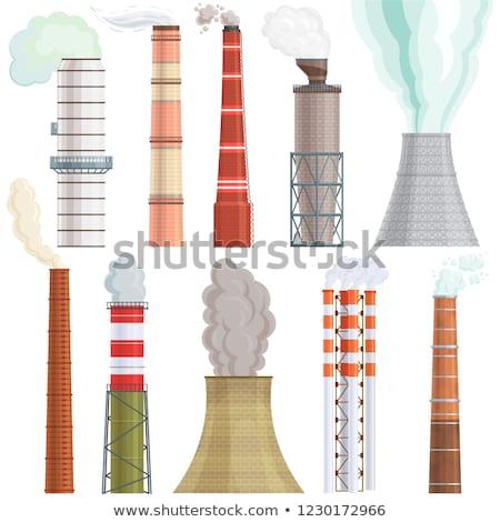 Factory chimneys. Stock photo © d13