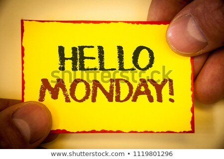 today is the day motivational messsage stock photo © stevanovicigor
