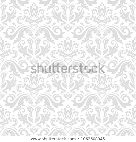 Silver Ornamental background stock photo © shawlinmohd
