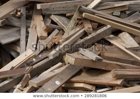 Starych tarcica cięcia sztuk drewna Zdjęcia stock © skylight