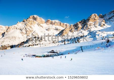 Dolomiti - high Fassa Valley Stock photo © Antonio-S