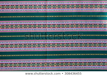 General traditional thai style native fabric weave Stock photo © stoonn