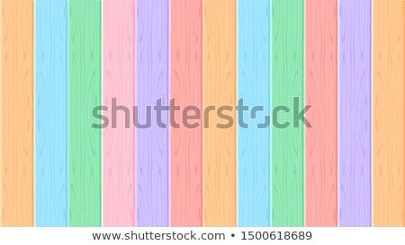 Rainbow · terrazza · view · verde · campi - foto d'archivio © photocreo