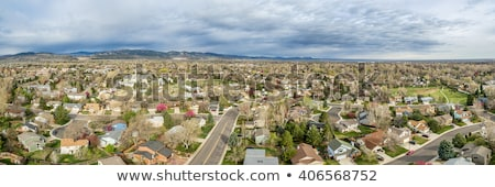 aerial view of Fort Collins  Stock photo © PixelsAway