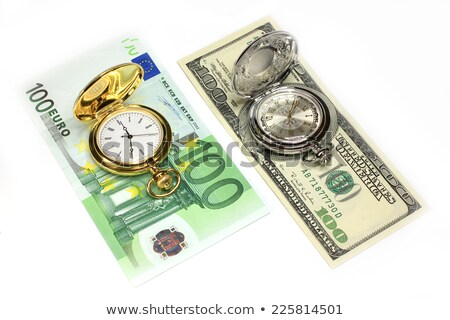 Charity on Pocket Watch Face. Stock photo © tashatuvango