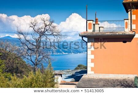 Villa acqua casa mare castello Europa Foto d'archivio © LianeM