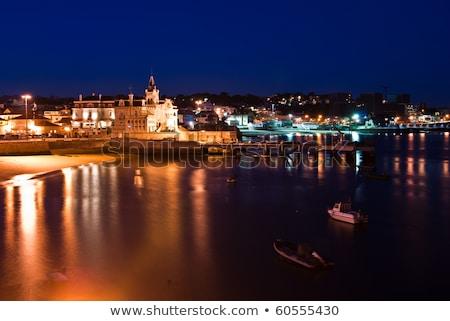 Маяк ночь Португалия мнение муниципальный Сток-фото © joyr