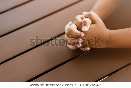 thanksgiving praying hands stock photo © irisangel