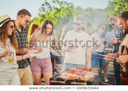 BBQ party Stock photo © m_pavlov