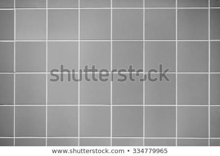 Photo stock: Smooth Concrete Pavement As Gray Square
