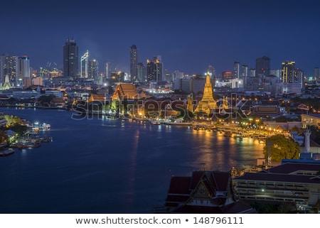 View across Bangkok skyline  Stock photo © meinzahn