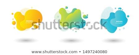 absztrakt · piros · szürke · hullámos · vektor · terv - stock fotó © saicle