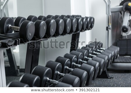 pesas · gimnasio · deportes · moderna · club - foto stock © alexmillos