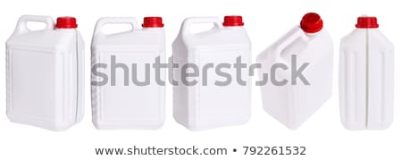 canister with machine oil Stock photo © ozaiachin