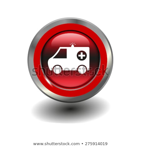 Mentő piros vektor ikon terv digitális Stock fotó © rizwanali3d