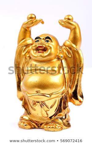 Buda · beyaz · stüdyo · yalıtılmış · yağ · Asya - stok fotoğraf © alisluch
